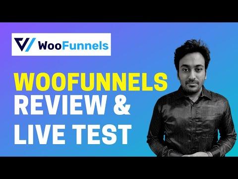 WooFunnels Review & Tutorial - Lifetime Deal - Sales Funnel Builder For WP WooCommerce
