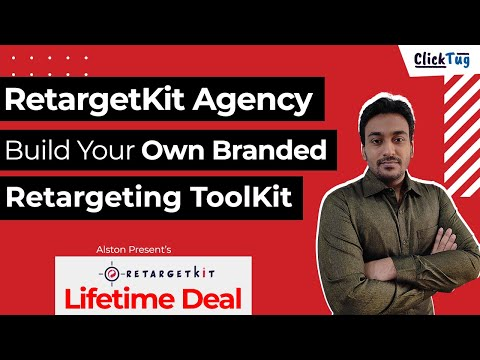 RetargetKit Agency & White Label - Build Your Own Branded All-in-one Retargeting ToolKit