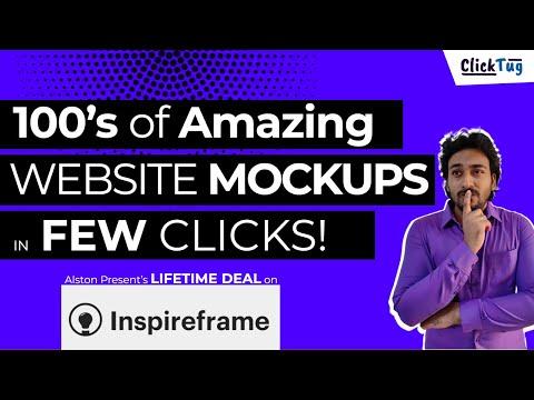 Inspireframe Lifetime Deal - Build Fast & Easy Website Prototypes