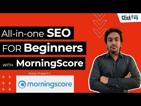 Morningscore - Best Beginner SEO Tool in 2020