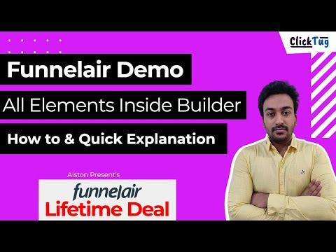 Funnelair Review - Funnel Builder Tool Demo & Walkthrough