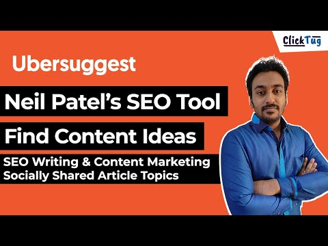 Neil Patel Ubersuggest Content Ideas - Write Content for SEO and Social Media