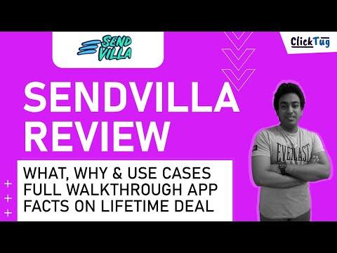 Sendvilla Review, Tutorial, Lifetime Deal Facts & Best Use Cases