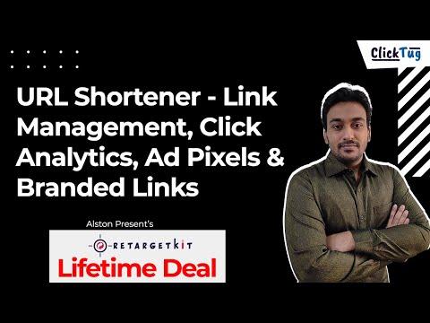 Retargetkit - URL Shortener, Link Management, Click Analytics, Ad Pixels & Branded Links