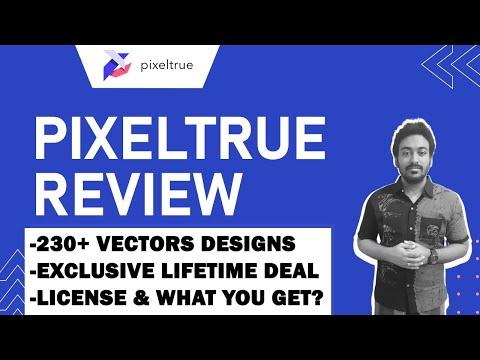 PixelTrue Lifetime Deal Review - Illustration & Vectors Pack