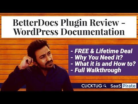 BetterDocs Plugin Review - Lifetime AppSumo Deal