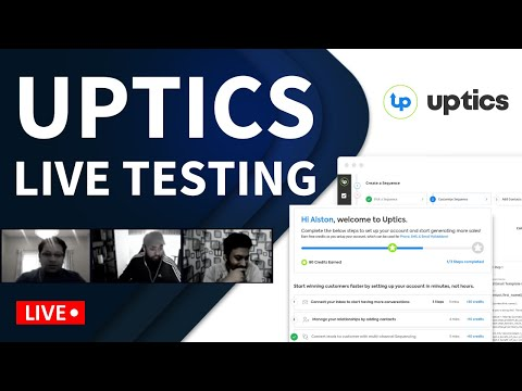 Uptics Review & Live Testing - First Time Users - Pros & Cons