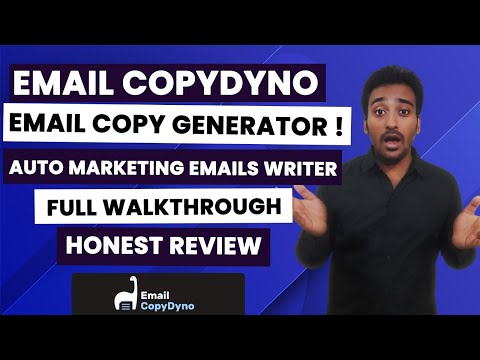 Email CopyDyno Review - Best Email Marketing Copy Generator?