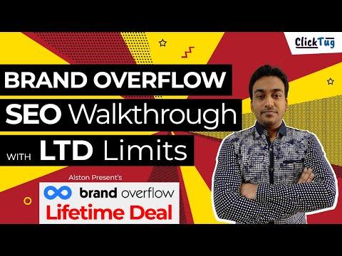 Brand Overflow Lifetime Deal Review - Features Walk through & LTD Highlights