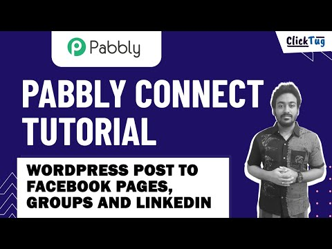 Pabbly Connect Tutorial - WordPress Post to Facebook Pages, Groups and LinkedIn - Social Media