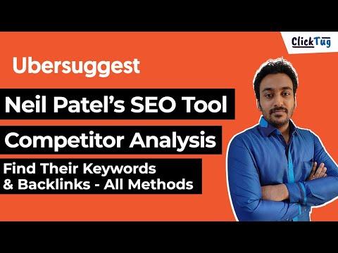 Ubersuggest Neil Patel Traffic & SEO Analyzer - Find Competitor Backlinks & Keywords in 2021