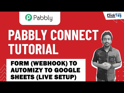 Pabbly Connect - Elementor Form (Webhook) to Automizy to Google Sheets (Live Actual Setup)