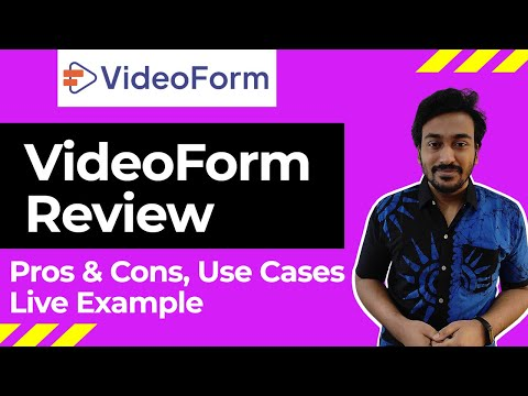 VideoForm Review - Video Personalization Tool Pros, Cons, Use cases & Example