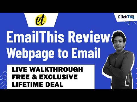 EmailThis Review - How to Email a Web Page in All Browsers
