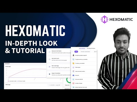 Hexomatic Review: In-Depth Tutorial For No-code & Work Automation Platform