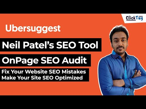 Neil Patel Ubersuggest Site Audit - Fix Your Website SEO Mistakes in 2021