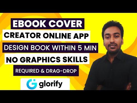 Ebook Cover Creator Online Software App - No Design Skills Required