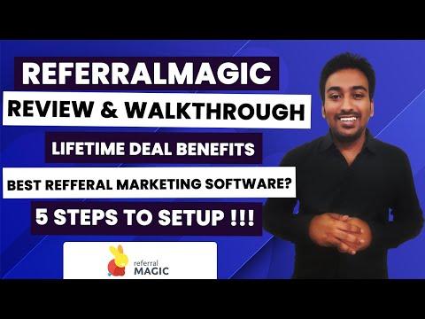 ReferralMagic Review, Walk-through and Lifetime Deal Benefits