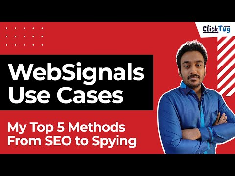 WebSignals Top 5 Use Cases For Your Brand or Website