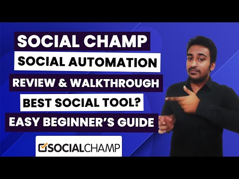 Social Champ Review & Social Marketing Walk-through