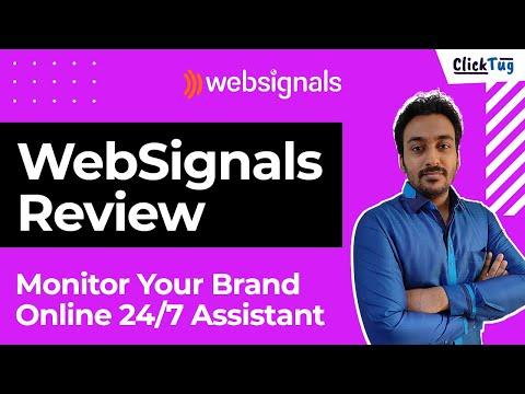 WebSignals Review & Tutorial - Quick Walkthrough of Web Monitoring Tool
