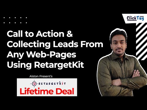 Call to Action & Collecting Leads From Any Web-Pages Using RetargetKit