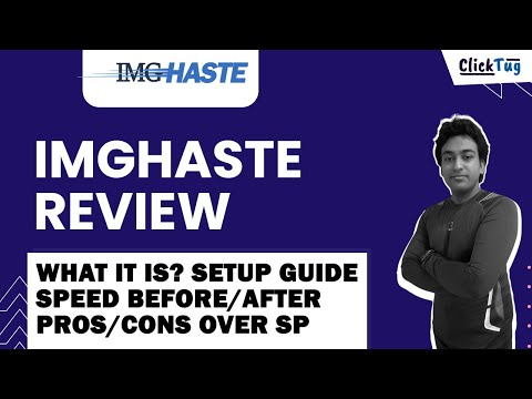 Imghaste Review, How to Setup, Results, Compare with ShortPixel