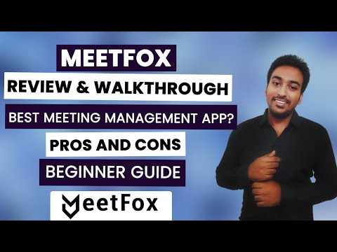 Meetfox Review - Online Meeting Management Software System