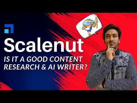 Scalenut Review: SEO Content Research & AI Writing Assistant Software Testing