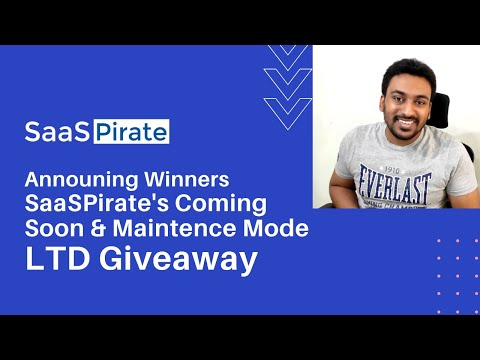 Announing the Winners Our Coming Soon LTD Giveaway