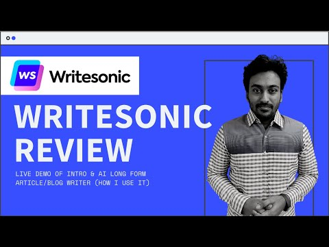 Writesonic Review & Lifetime Deal - GPT3 AI Writer - My Experience