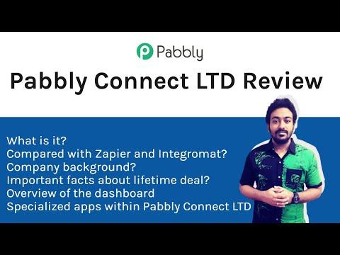 Pabbly Connect LTD Review - Lifetime Deal - Zapier & Integromat Alternative