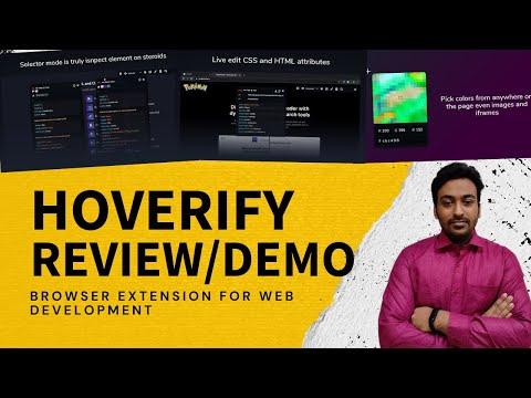 Hoverify Review & Lifetime Deal - Web Developer Inspector Browser Extension
