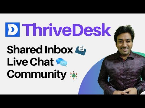 ThriveDesk Review & Lifetime Deal with 10% OFF - Live Chat, Shared Inbox & Community