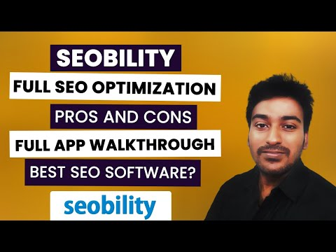 Seobility Review - All-in-one SEO Software & Checker Walk-through
