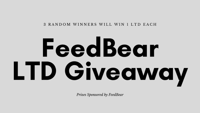 FeedBear Giveaway