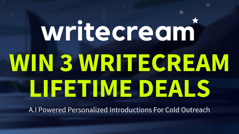 WriteCream LTD Giveaway