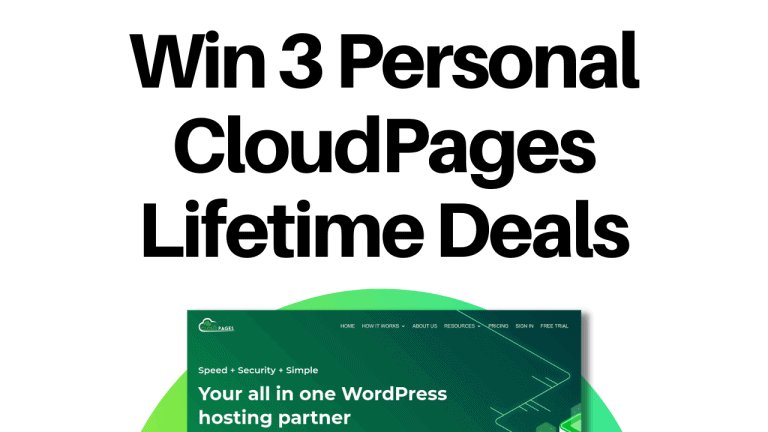 cloudpages lifetime deal giveaway
